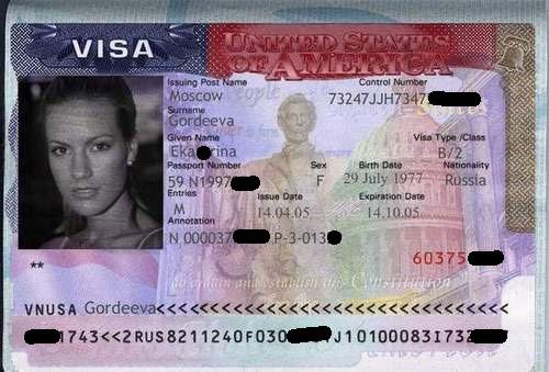 Visa américain